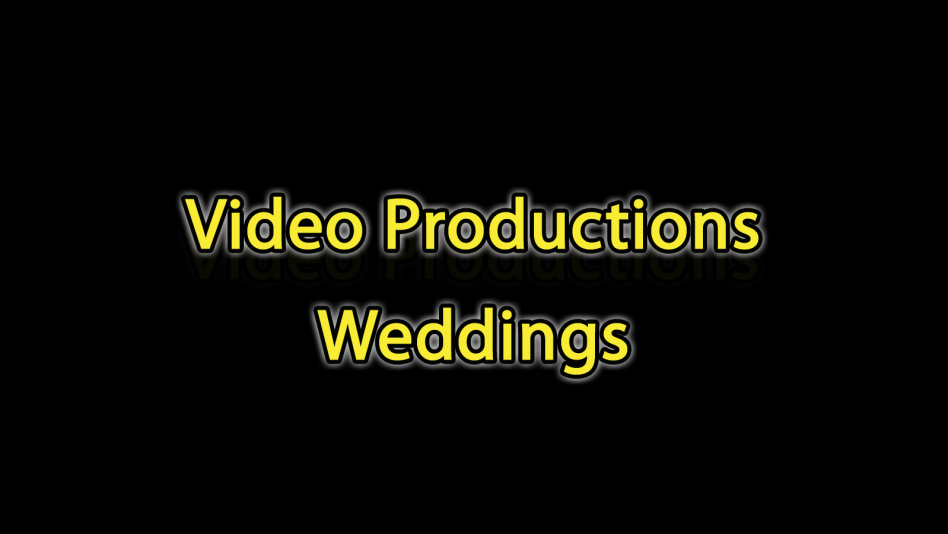 Home-Video Productions-Weddings